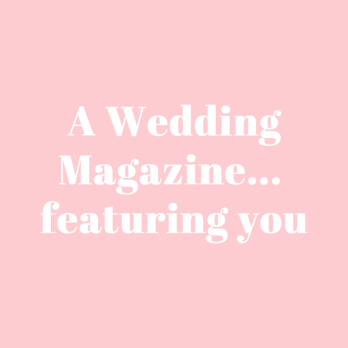 bespoke personal wedding magazine that can be used as a luxury wedding keepsake from the wedding magazine