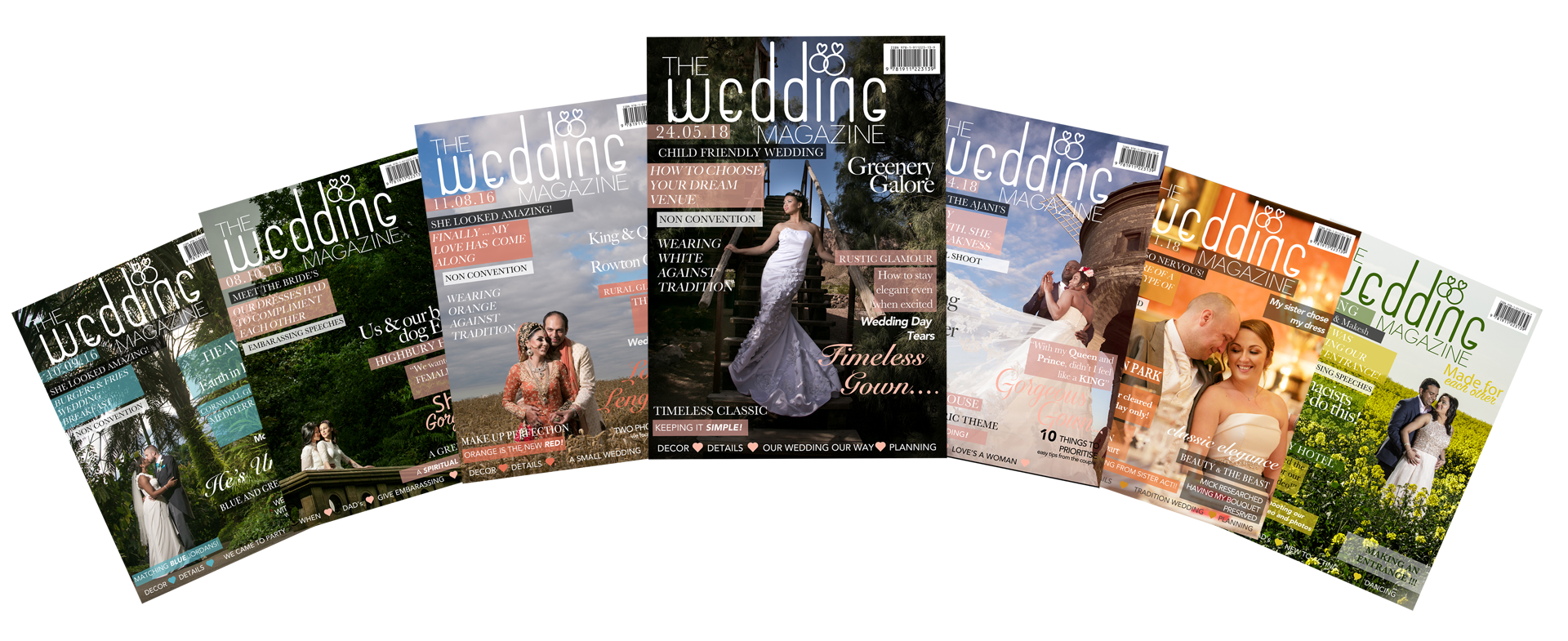 your wedding day in print